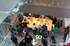 Una Apple Store en fotografías