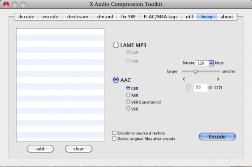 xACT (X Audio Compression Toolkit)