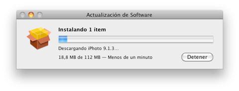 Actualización iPhoto