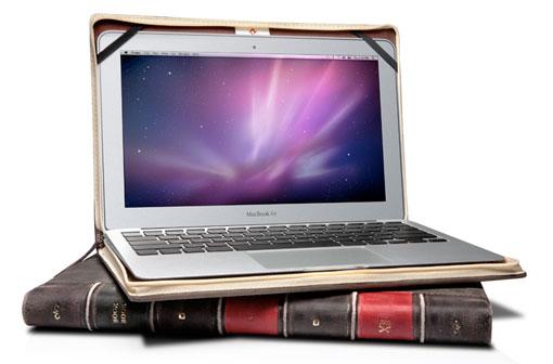 Funda imitación libro antiguo
