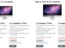 Apple actualiza la gama iMac. Nuevos procesadores, chips gráficos y puerto Thunderbolt