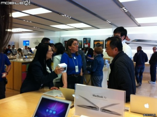 Presidenta HTC de compras en Apple Store
