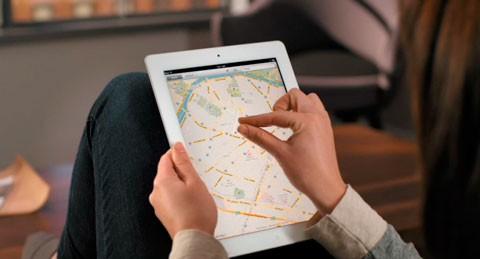 Mapas iPad