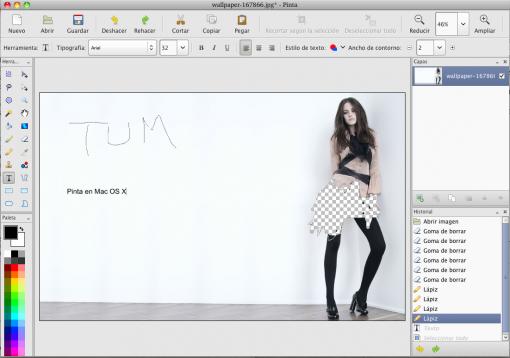 Pinta en Mac OS X