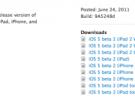 Apple publica la segunda beta de iOS 5