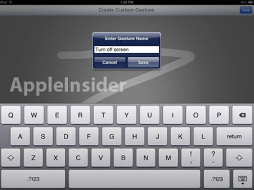 Gestos personalizados en iOS