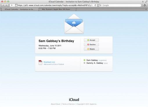¿Contará iCloud con una interface web?