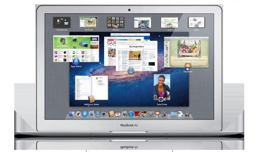 Lion en un MacBook Air