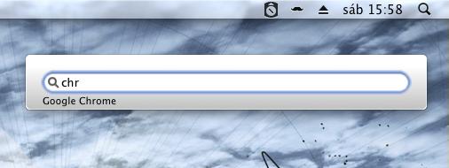 Chuck, un lanzador de aplicaciones para Mac
