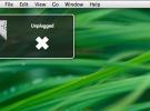 UnPlugged, o cómo recibir notificaciones cada vez que se desconecta el Mac de la corriente eléctrica