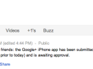 La aplicación de Google+ para iOS ya ha sido remitida a Apple