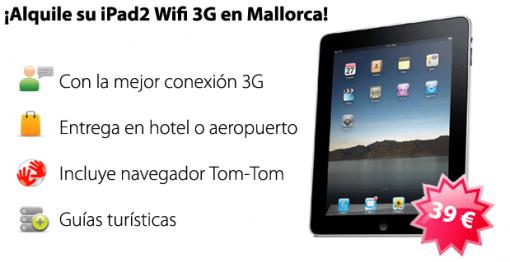 Alquiler iPad Mallorca