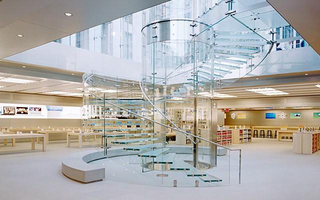 Cambios en las Apple Store