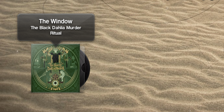 interfaz para controlar iTunes: Bowtie