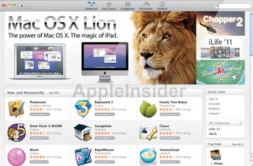 MacAppStore Lion