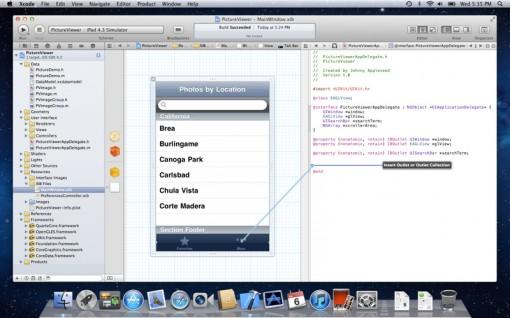 Xcode para Lion