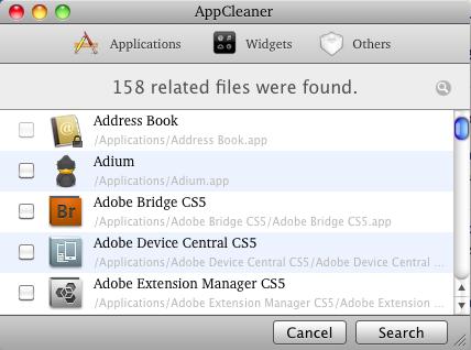 El mejor desinstalador de aplicaciones AppCleaner