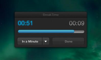 BreakTime, o cómo tomar descansos cuando se trabaja en el ordenador