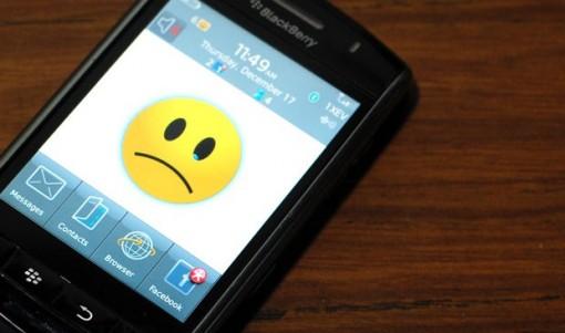 BlackBerry Triste