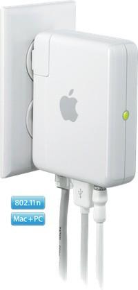 Apple prepara una segunda generación de AirPort Express 802.11n