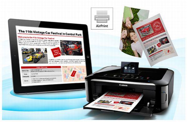 Canon añade soporte para AirPrint en algunas de sus impresoras