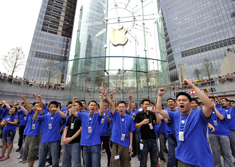 Apple abrirá su primera tienda en Hong Kong