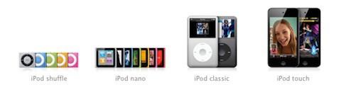 Apple podría jubilar los iPod classic y shuffle a finales de año