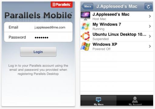 Parallels mobile se actualiza para dar soporte remoto hacia tu Mac