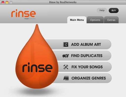 rinse el complemento perfecto para iTunes