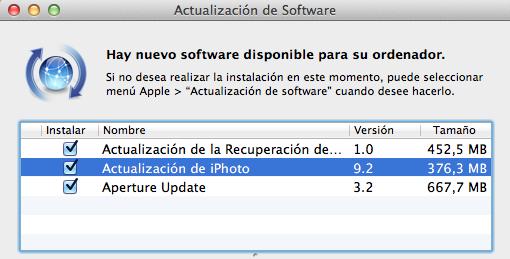 Apple actualiza sus aplicaciones de fotografía