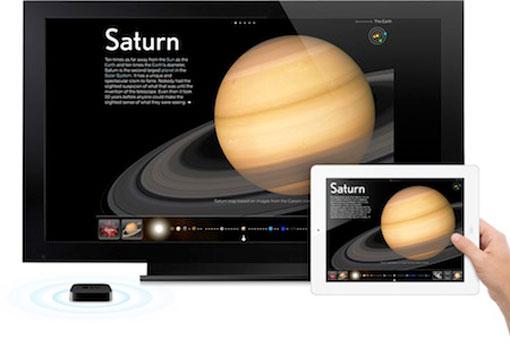 AppleTV iPad