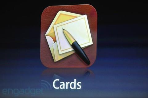Apple anuncia Cards: La nueva app para iOS para crear postales