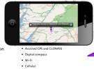 El iPhone 4S cuenta con un mejor sistema de localización