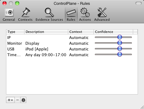ControlPlane, o cómo establecer configuraciones que se activan de acuerdo a nuestro entorno