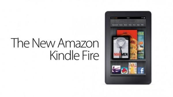 Imagen de la presentación del Kindle Fire