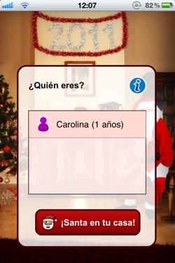 Tell me Santa