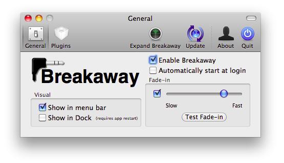 Breakaway, controla iTunes según la conección de los auriculares