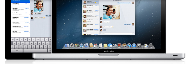 Messages en iPad y Mac