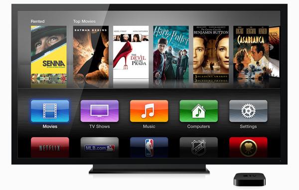 Apple TV con nueva interfaz de usuario