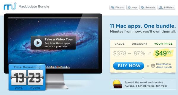 MacUpdate Bundle: 11 aplicaciones a un precio increible