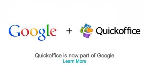 Google adquiere Quickoffice para llevar un paso más allá la edición de documentos