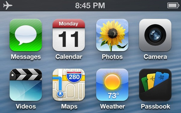 UI de iOS 6