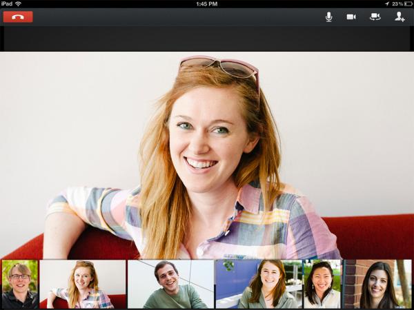 iPad hangout