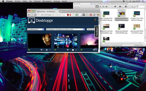 Desktoppr, o cómo tener tus fondos de pantalla sincronizados mediante Dropbox
