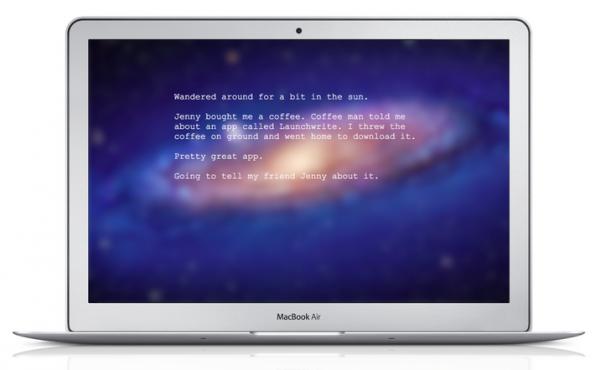 Launchwrite