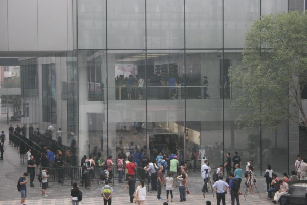 El nuevo iPad llega a China