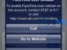 Una pista sobre FaceTime en redes 3G: AT&T limita su uso a un plan de tarifas específico