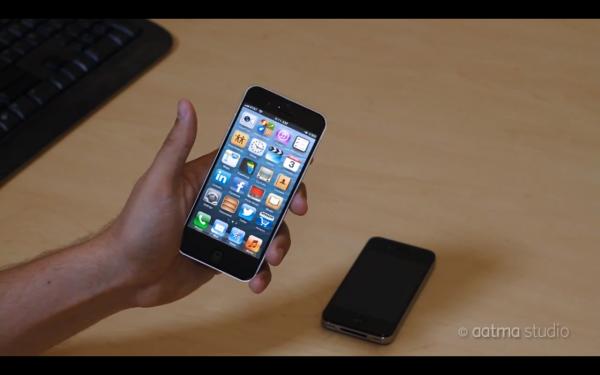 iPhone 5 se convierte en iPad mini