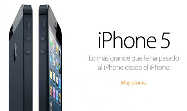 El iPhone 5 ya está agotado en los Estados Unidos