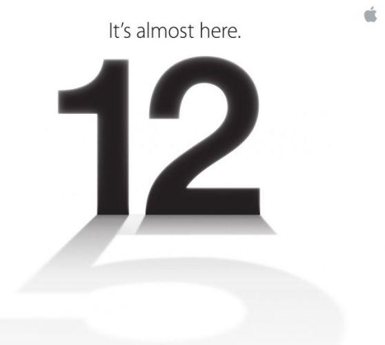 Logo de la invitación de Apple para la próxima Keynote